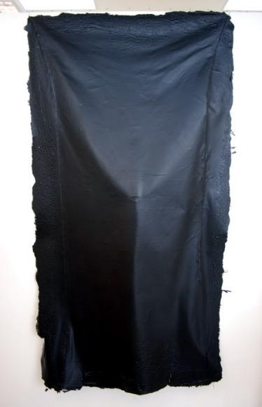corps de peinture noire-Victoria 200 cm x 90 cm 2010